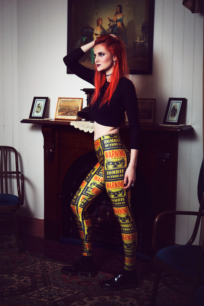 Zombie Outbreak Leggings