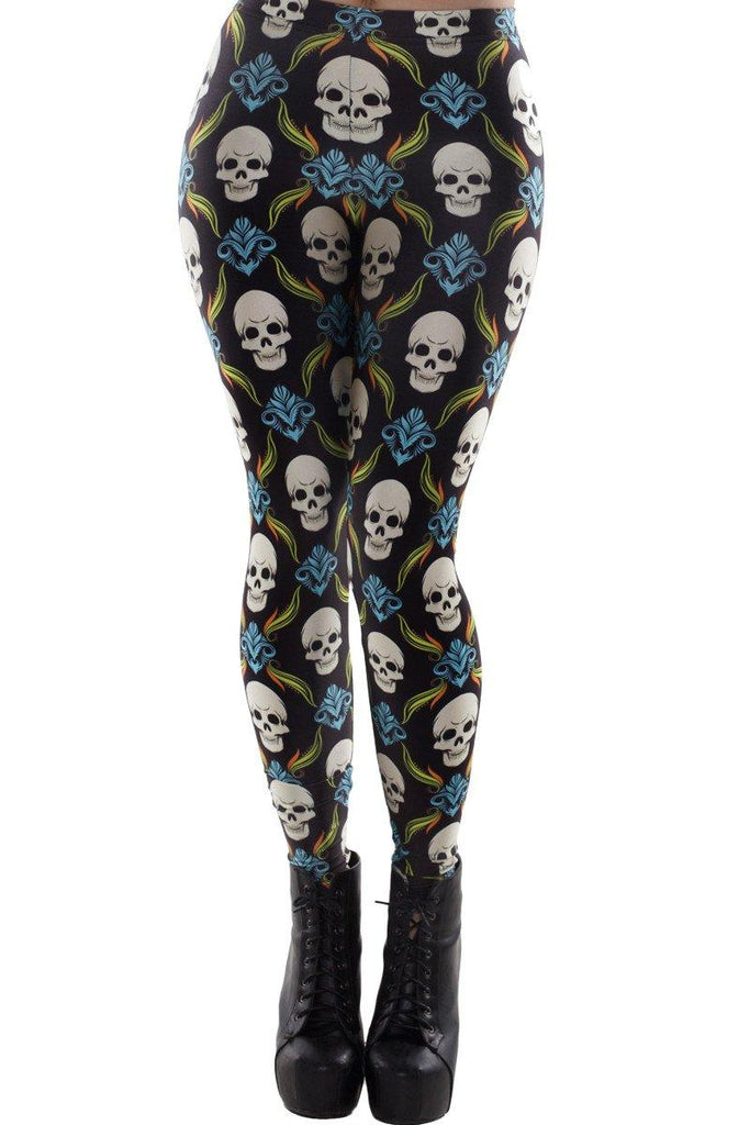 Damask Leggings