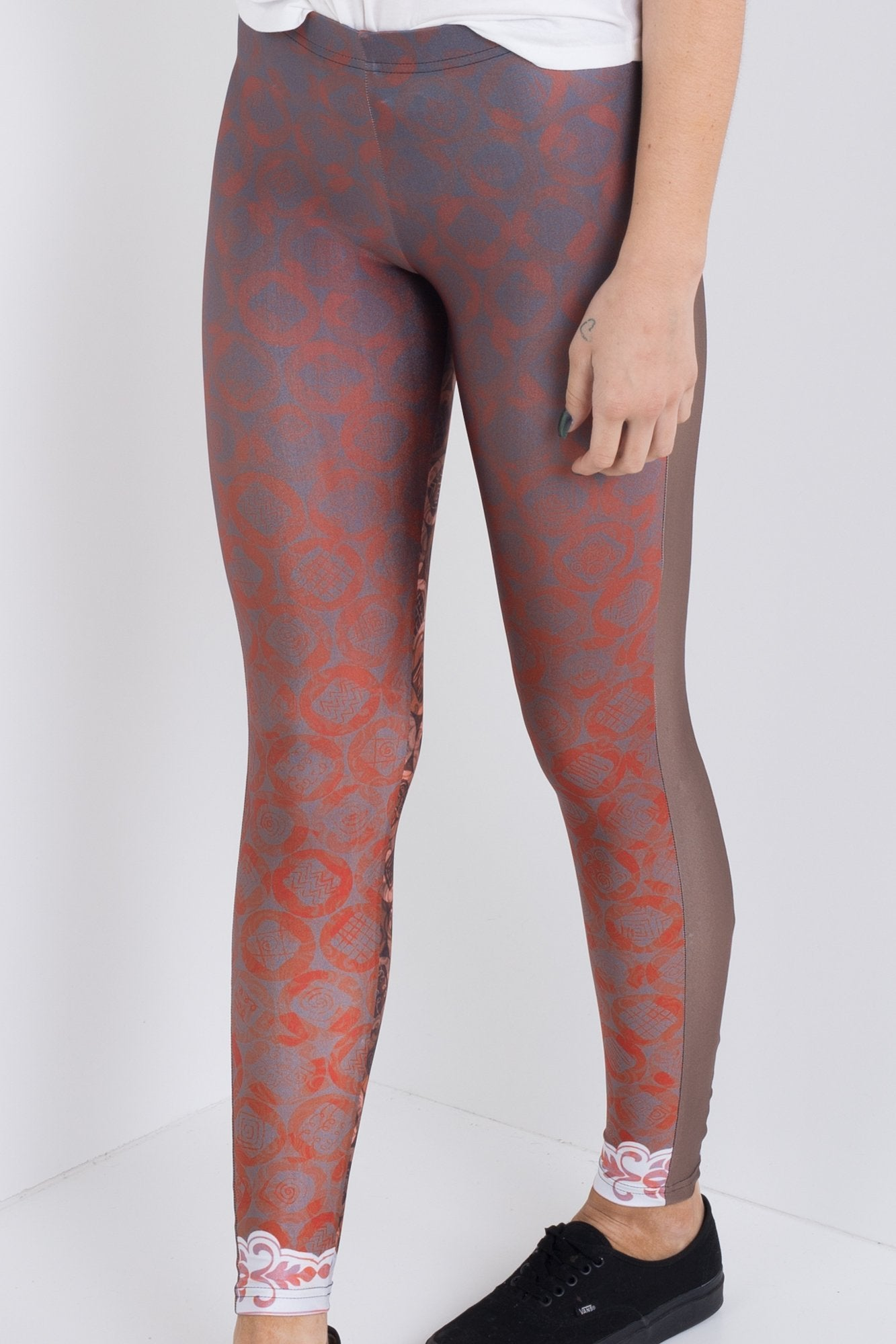 Hot Chocolate Panelled Leggings