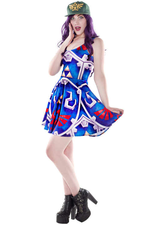 Hylian Shield Cosplay Skater Dress
