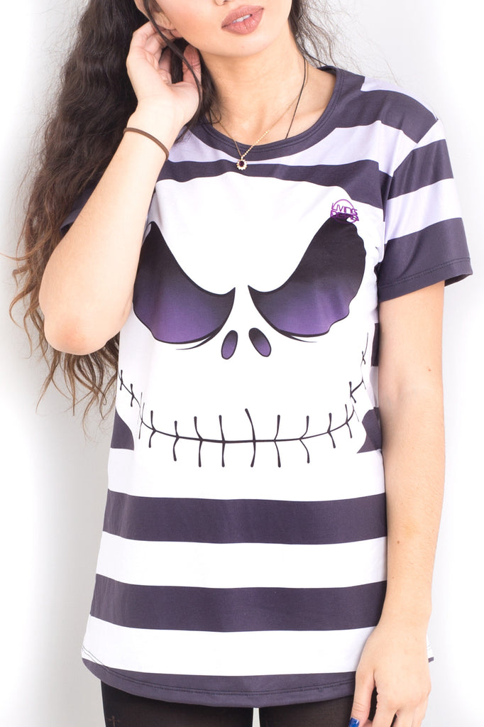 Jack Skellington Cosplay Tee