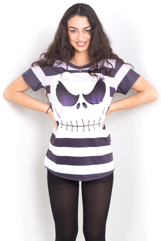 Jack Skellington Tee Crop