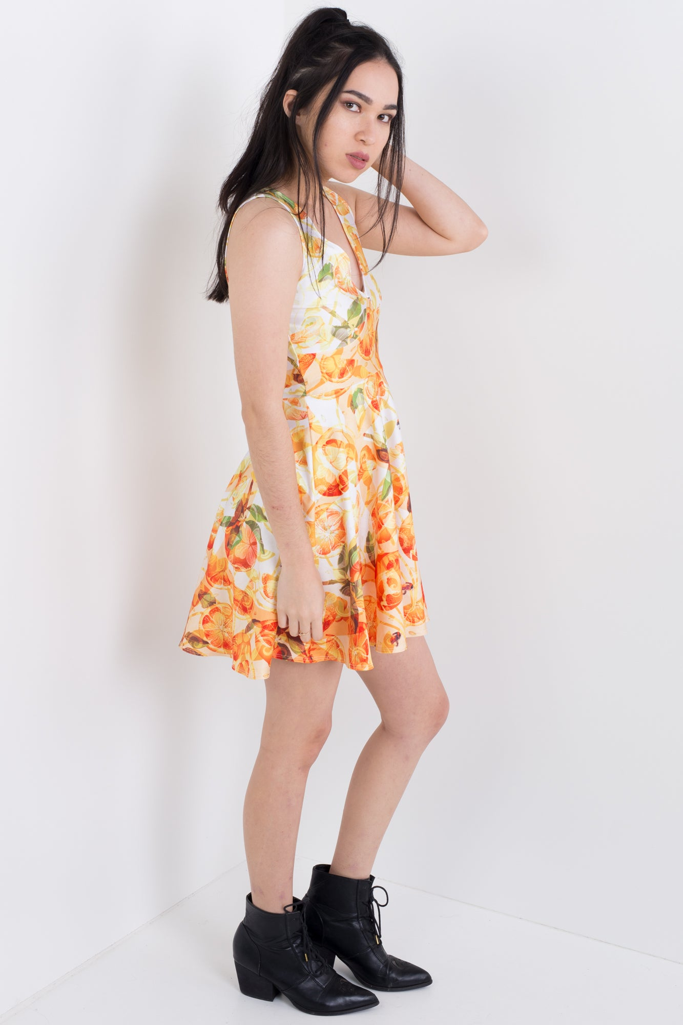 Orange Zest Happy Hour Dress
