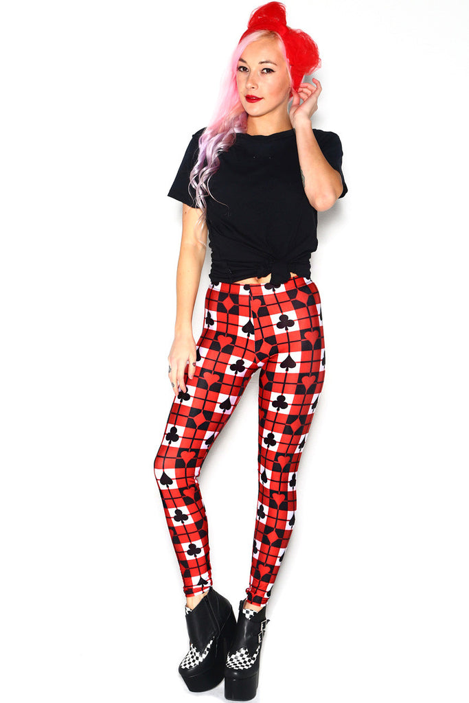 Poker Ace Leggings