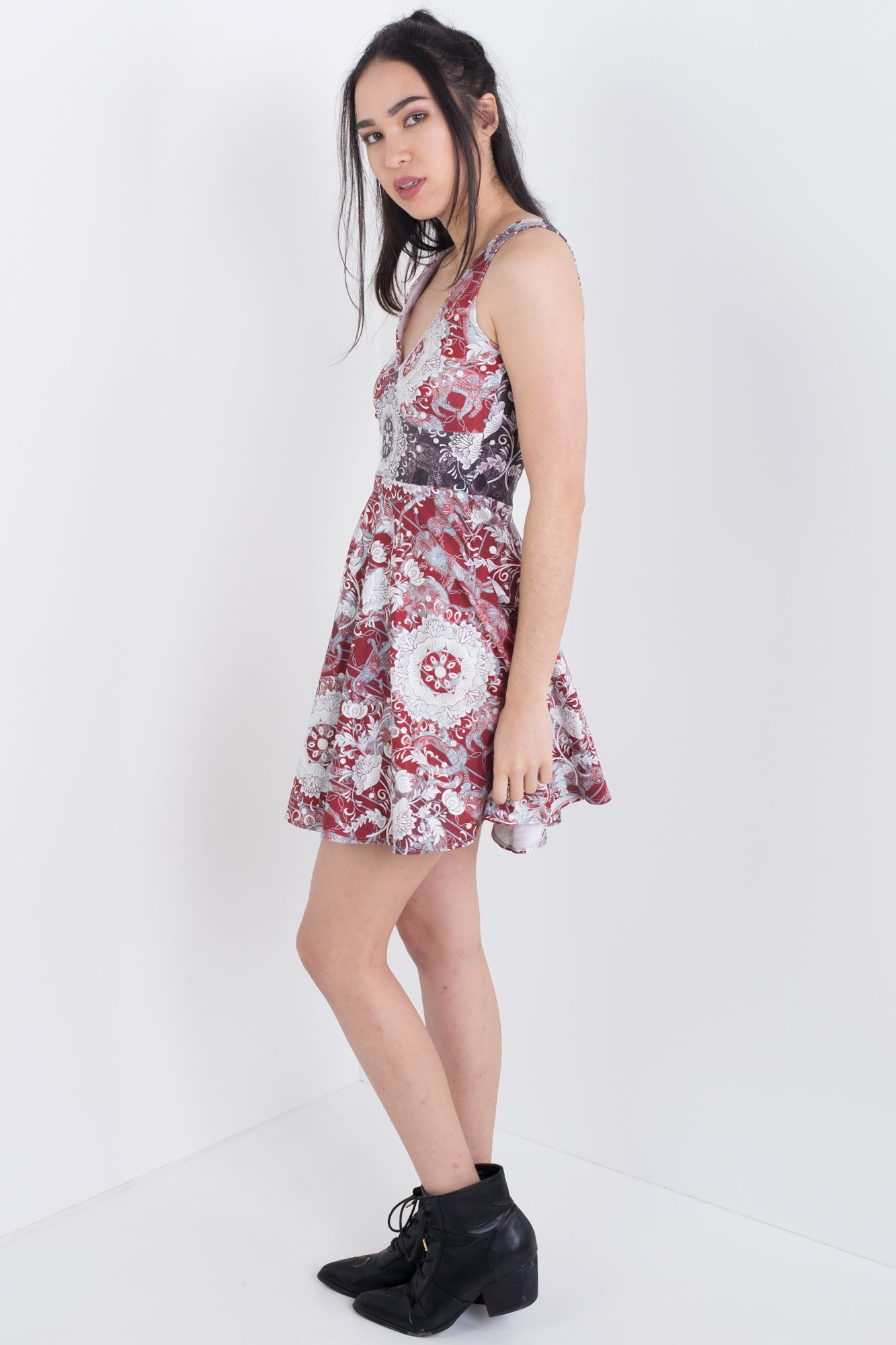 Ruby Chinese Zodiac Happy Hour Dress