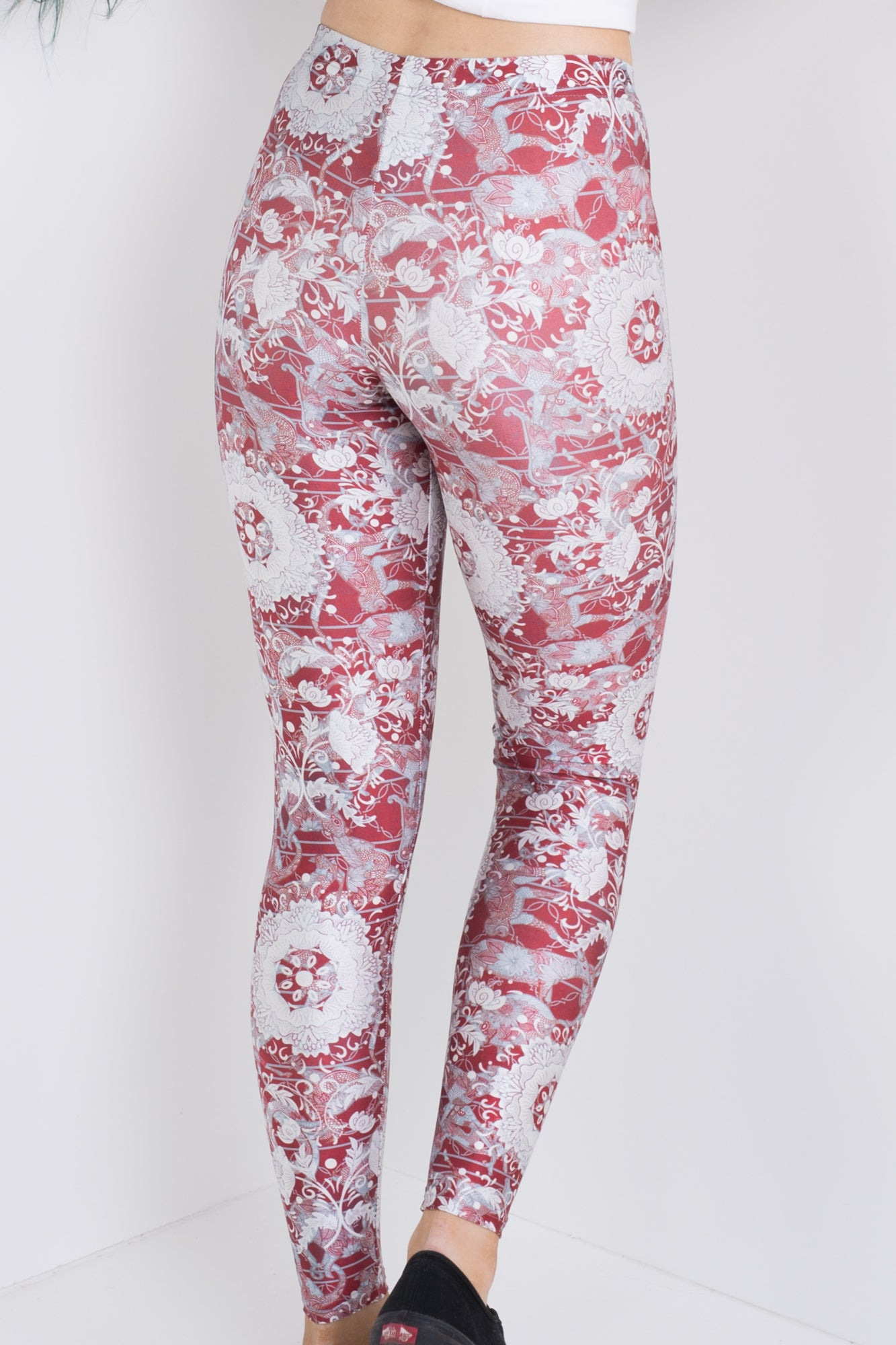 Ruby Chinese Zodiac Leggings