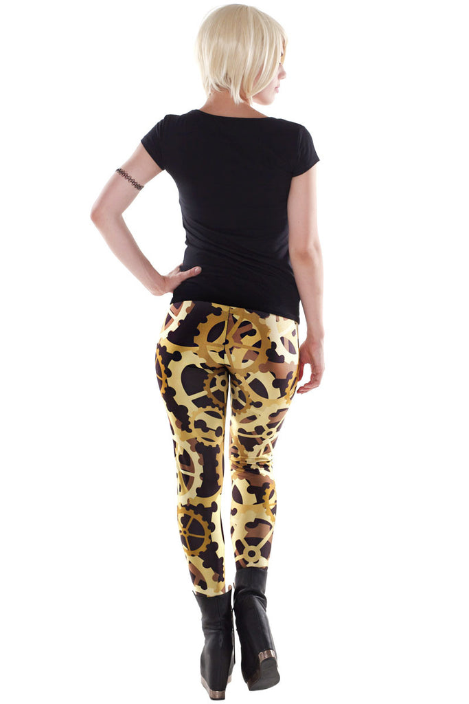 Kick Up A Row Leggings - LIMITED