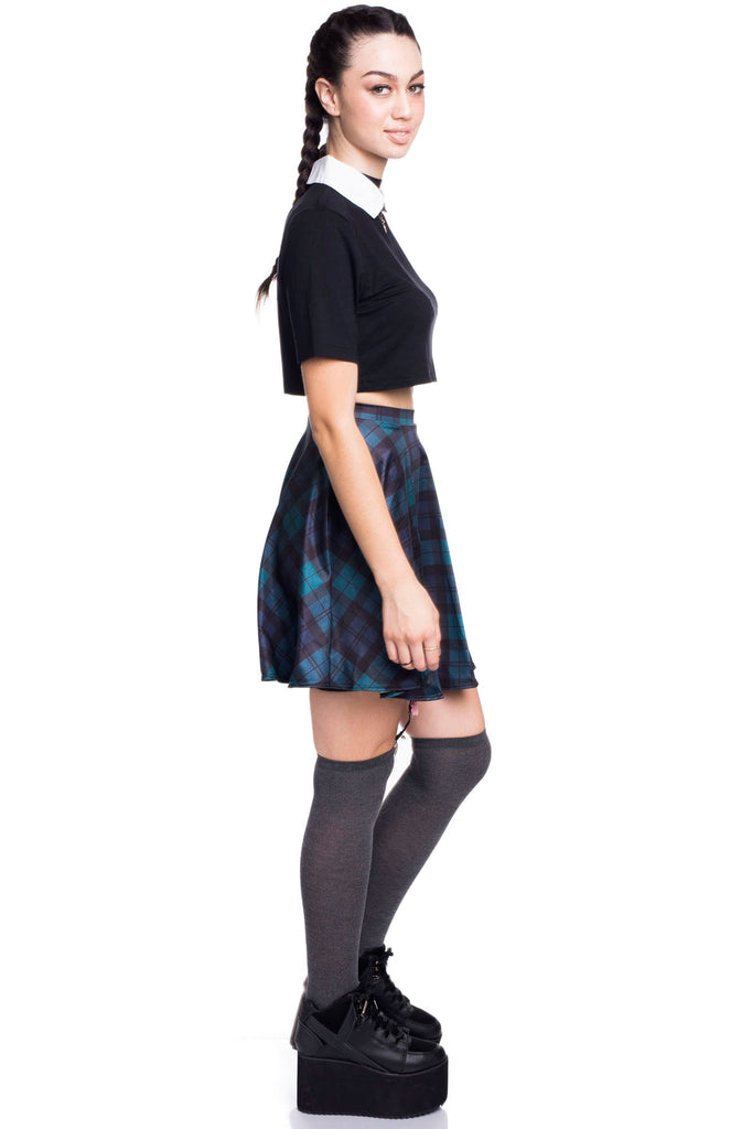 School Days Skater Skirt