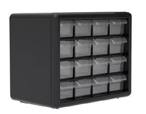 16-Drawer Storage Cabinet