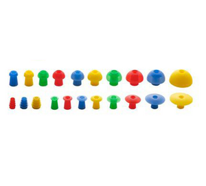 Sanibel ADI Silicone Mushroom-Shaped Eartips (100/pkg)