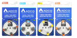 ADCO Hearing Aid Batteries