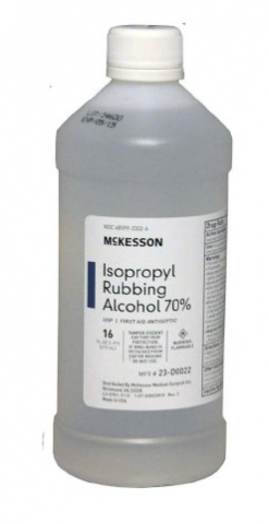 Isopropyl Alcohol - 16oz Liquid Bottle