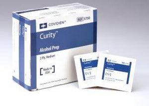 Curity Alcohol Prep Pads (200/bx)