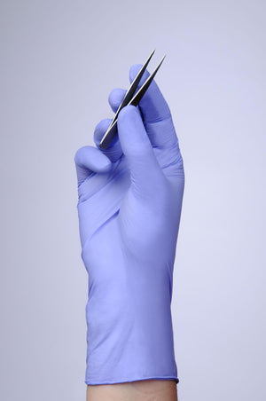 Flexal Thin Nitrile Fingertip-Textured Exam Gloves