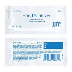 Individual Hand Sanitizer Packet