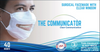 The Communicator Surgical Face Mask with Clear Window