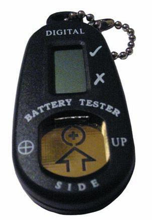 Digital Battery Tester and Holder