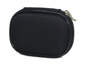 Black Zippered Hearing Aid Case - Unlabeled