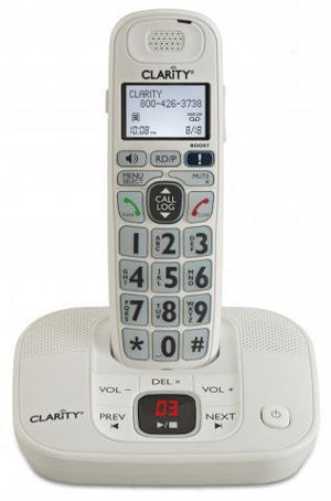 Clarity D714 Amplified Cordless Phone with Answering Machine