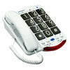 Clarity JV35 Amplified Telephone with Black Keys