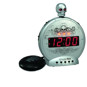 Sonic Boom The Skull Alarm Clock SBS550bc