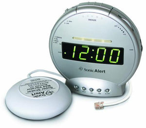Sonic Boom Alarm Clock Model SBT425