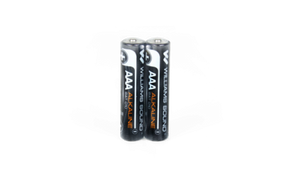 W/S - Two (2) 1.5-volt AAA alkaline batteries