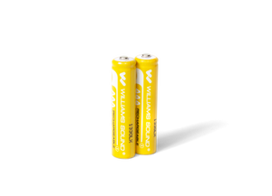 Two (2) 1.2-volt AAA rechargeable NiMH batteries
