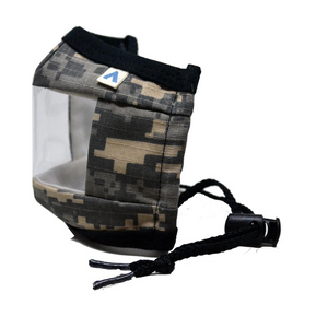 KIDS Window Communication Mask - Digital Camo