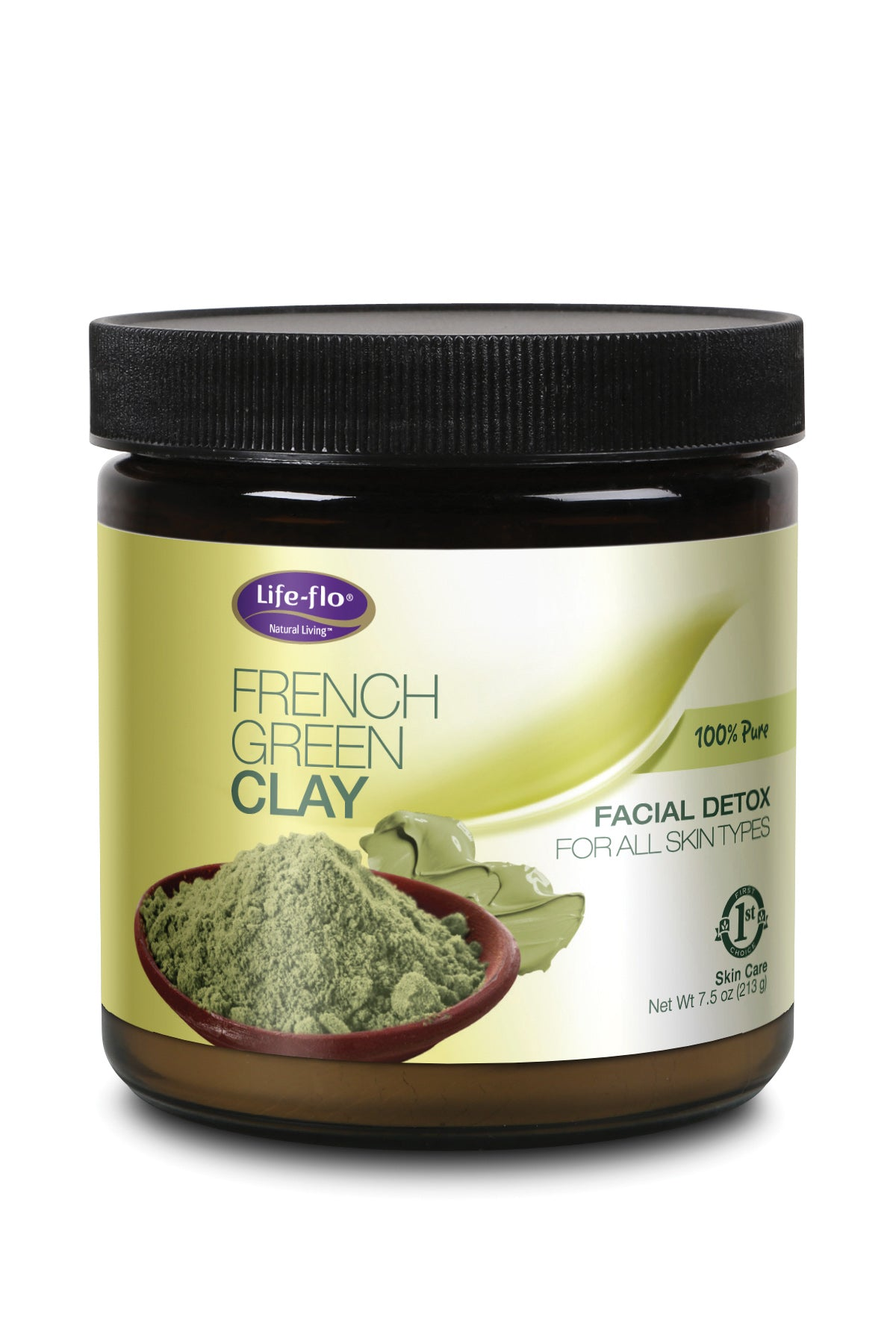 French Green Clay - 7.5 ounces