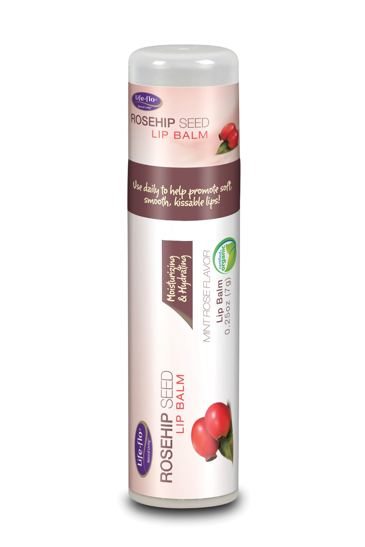 Rosehip Seed Lip Balm - 0.25 ounces