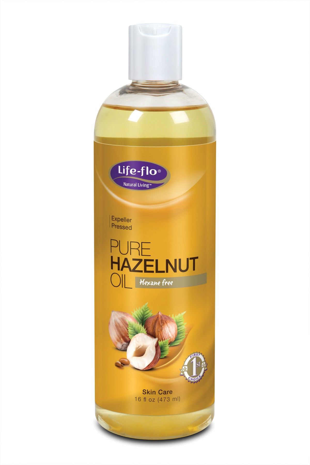 Pure Hazelnut Oil - 16 fl ounces