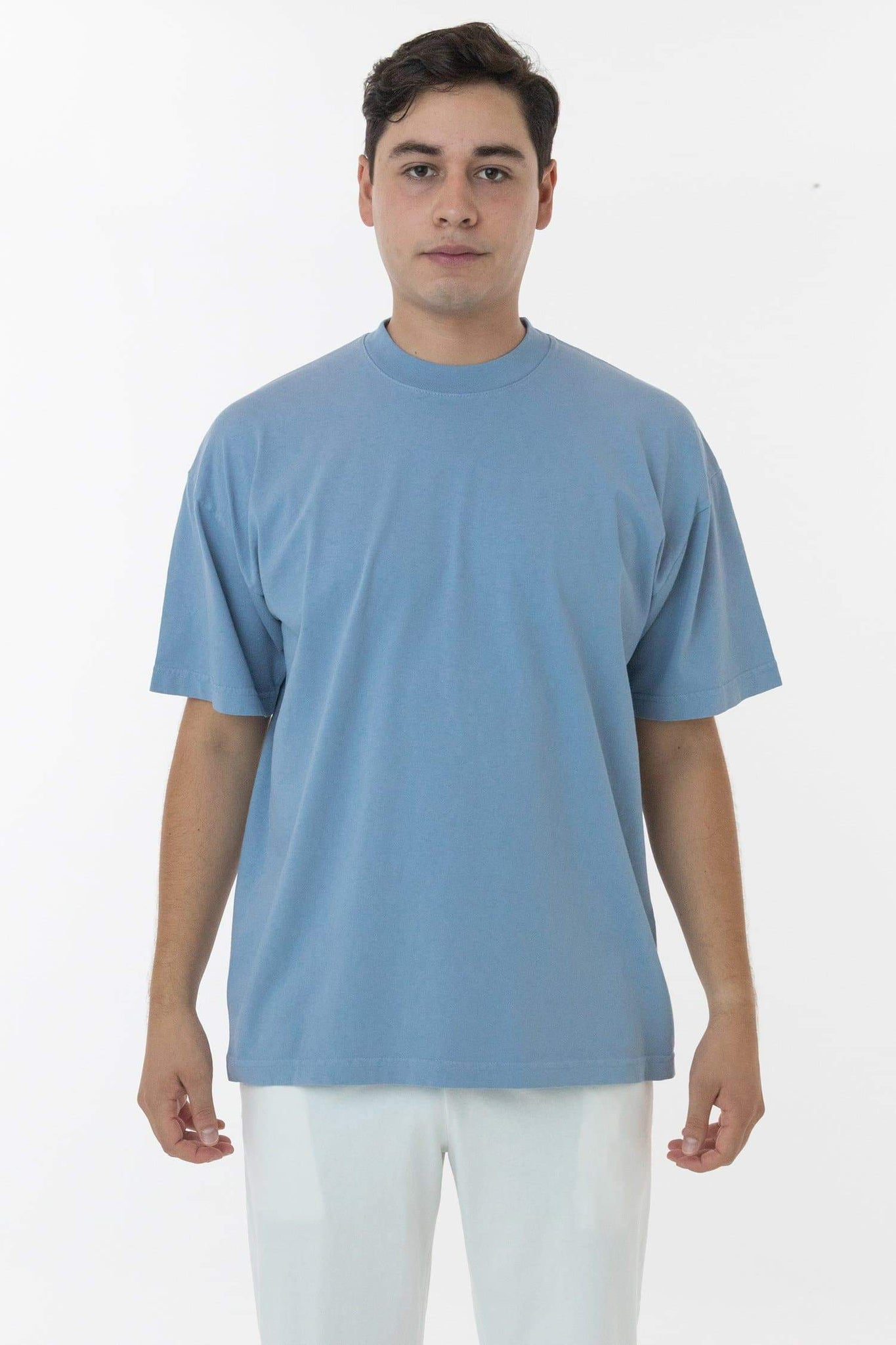 1801GD - 6.5oz Garment Dye Pastel Crew Neck T-Shirt