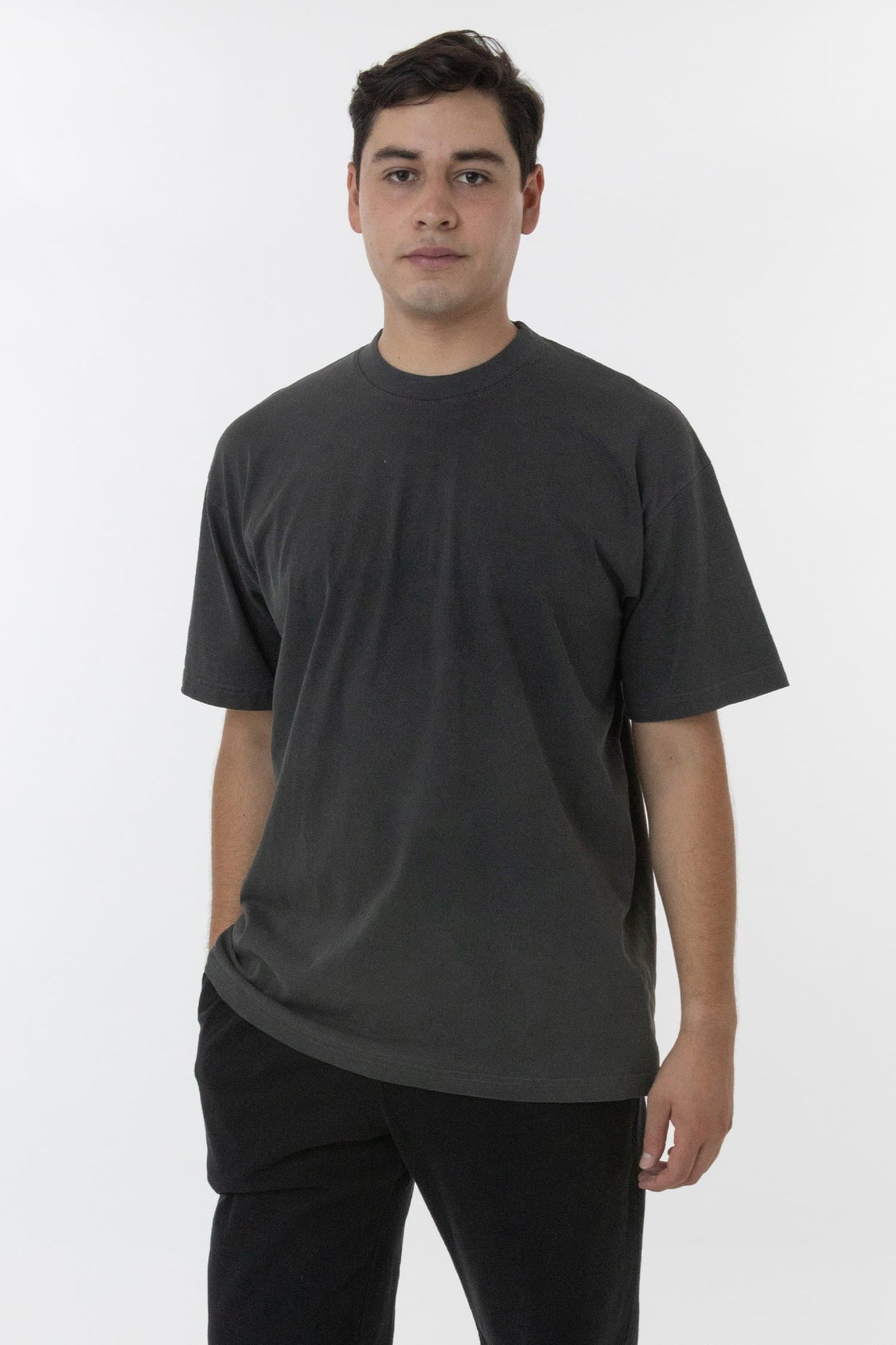 1801GD - 6.5oz Pigment Dye Crew Neck T-Shirt