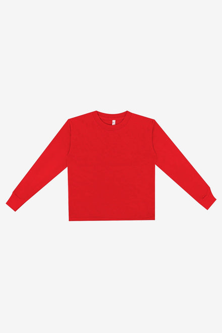 18107GD - Toddler long sleeve garment dye t-shirt
