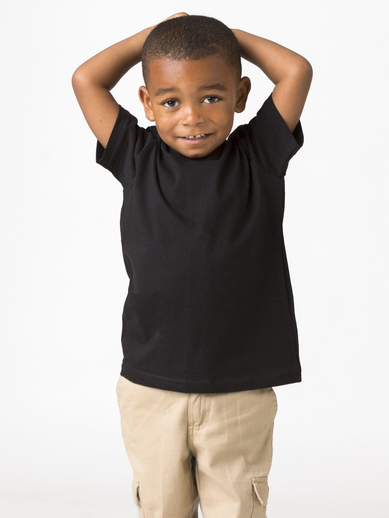 21005 - Toddler Short Sleeve Fine Jersey Tee
