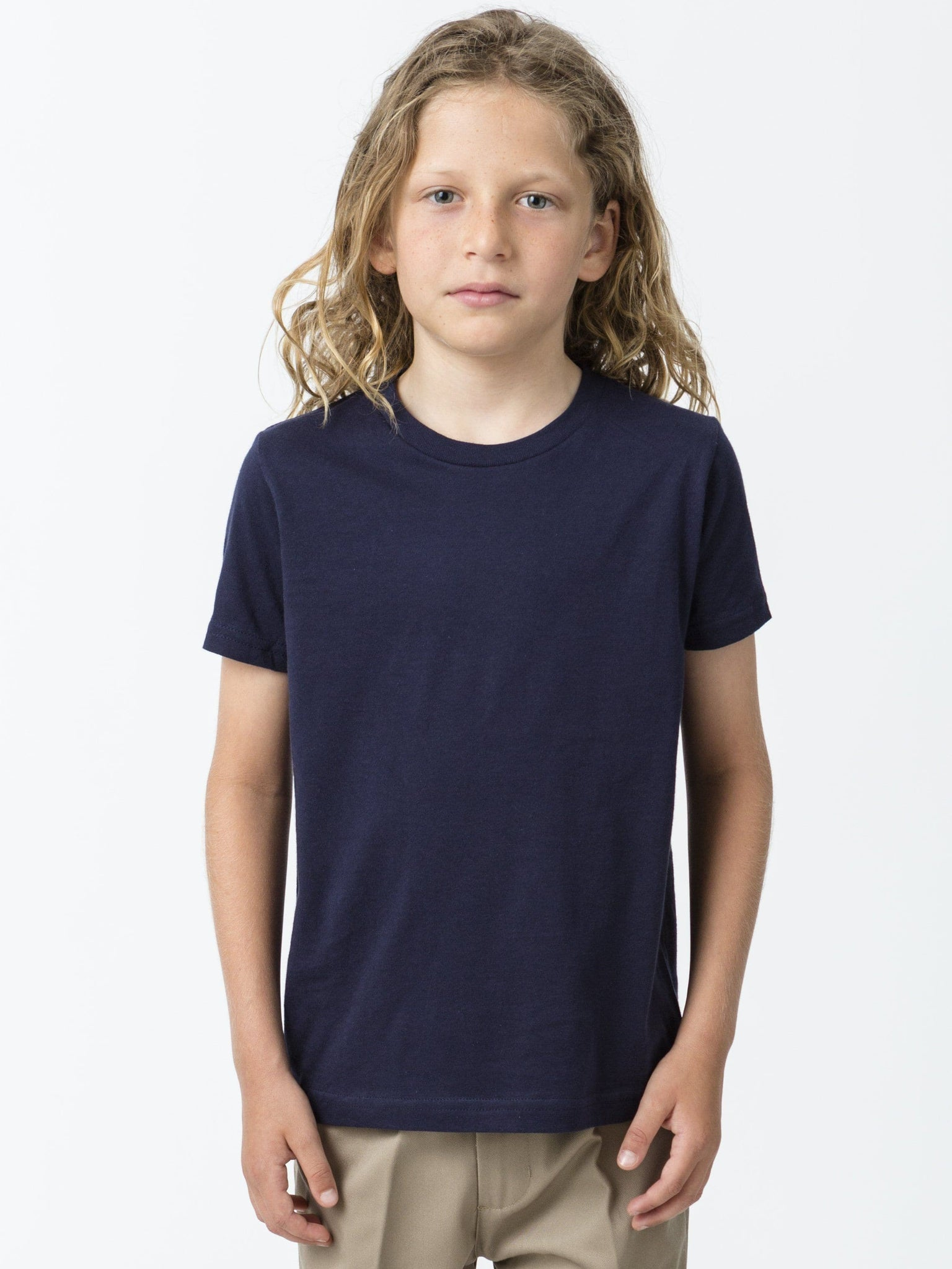 22001 - Youth Short Sleeve Fine Jersey Tee
