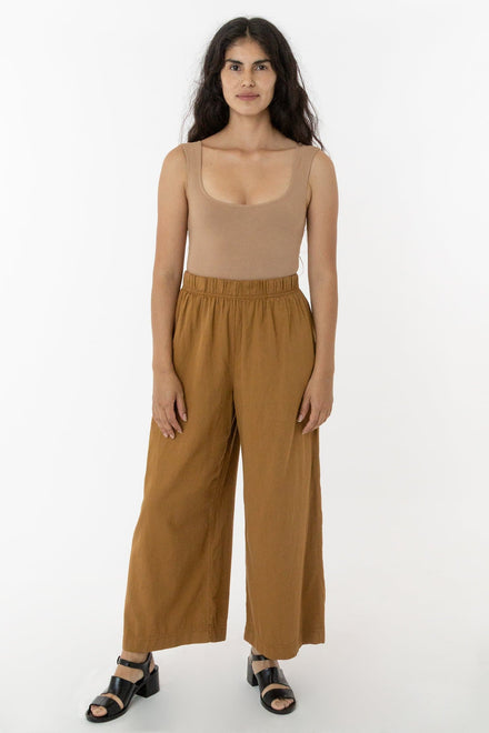 RCT308 - Cotton Twill Wide Pants