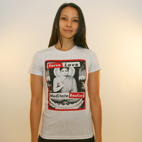 Buddha ~ Women's 100% Cotton Tee