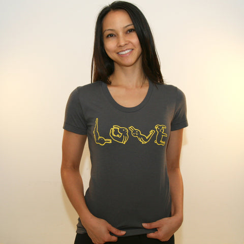 "USAGI ""LOVE"" ~ Women's 50/50 Tee"