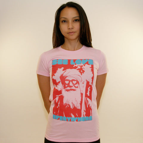 SEE LOVE  ~ Women's 100% Cotton Tee
