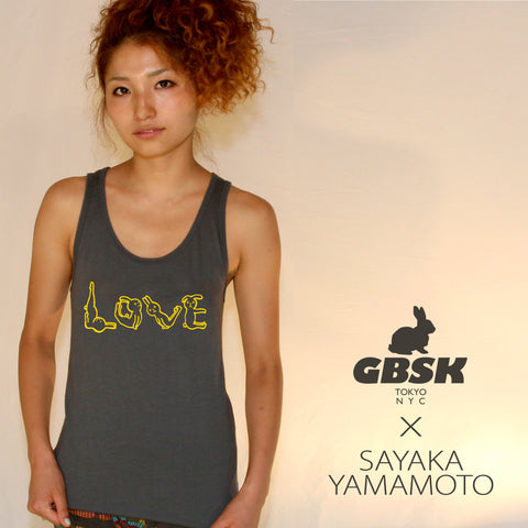 "USAGI ""LOVE"" ~ Women's 50/50 tank"