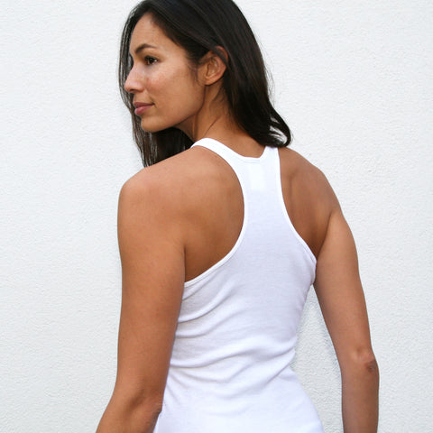 ACTION ~ 100% Cotton Racerback Tank