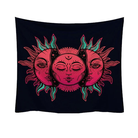 Fresh Style Tarot Hippie Fashion Tapestry