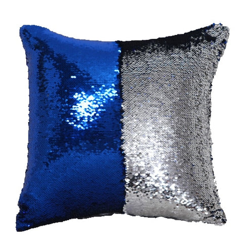 Magic Reversible Pillowcase Sequins Throw Pillow Cushion Cover