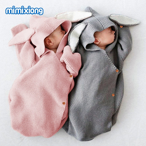 Cute Rabbit Baby Stroller Sleeping Bag
