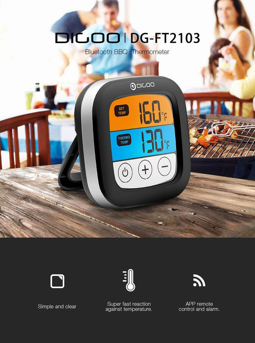 Bluetooth Fleisch-Thermometer-Superwunsch