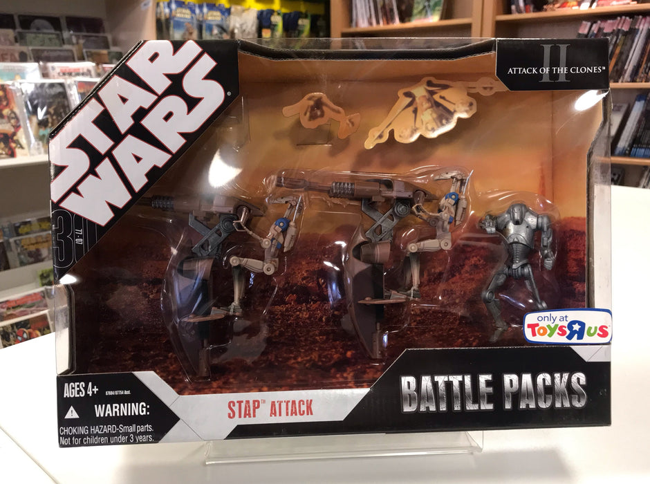 "Star Wars 30th Stap Attack Battle Pack 3 3/4"" Action Figures"