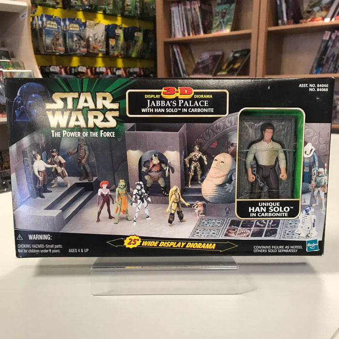 Star Wars The Power of the Force Jabba's Palace w/Han Solo in Carbonite