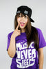 MUSIC NEVER SLEEPS HAT
